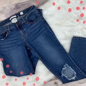 SP Black Label low rise distressed jeans size 30